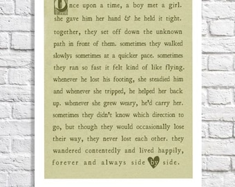 Love Poem Print Unique Wedding Gift For Couple Anniversary Gift For Wife Sage Green Wedding Reading Wedding Gift To Bride From Groom Artwork