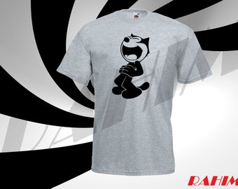 Funny Felix the cat, Adult T-shirt