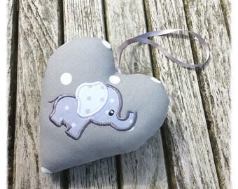 Elephant nursery decoration, newborn gift, baby gift, Christening gift, baby shower