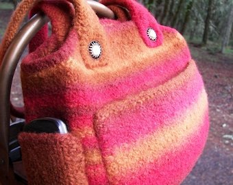 Knit and Felted Bag Pattern ~ Sonora Bag