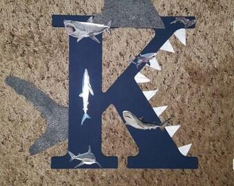 Shark Kid Letter