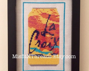 Pamplemousse La Croix - Finished Cross Stitch