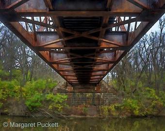 Bridge, Railroad, Rustic, Wall Art