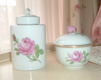 Furstenberg Germany set with roses