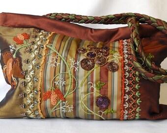Rococo in Copper Bag I