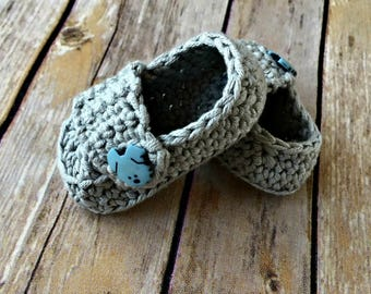 Baby Button Loafers