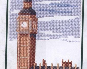 Big Ben und den Houses of Parliament gezählt Kreuzstich Kit