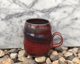 Deep Plum Swirled Mug