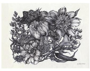 Wildflower Bloom Print