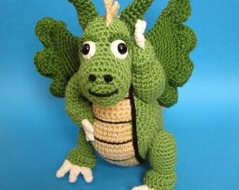 PDF Crochet Pattern DRAGON (English only)