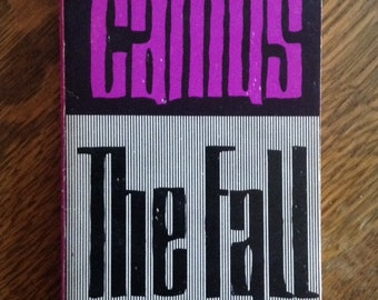 The Fall by Albert Camus vintage paperback book, vintage book, paper back, soft cover, book collector, reader gift