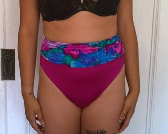 Vintage High waisted swimsuit bottoms