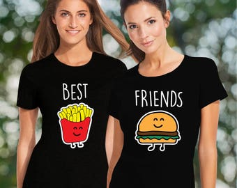 Best friend shirts / bff shirts / friends shirt / friends t shirt / best friend t shirts / best friend matching shirts / funny t shirts