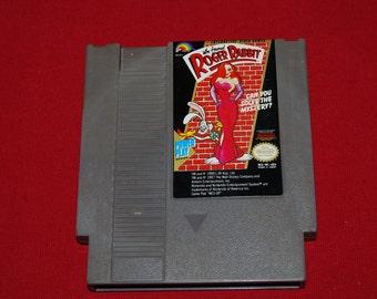 90s Who Framed Roger Rabbit NES Nintendo classic video game Disney entertainment system retro adventure action gamer 90s