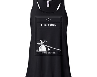 Tarot | The Fool | Flowy Tank