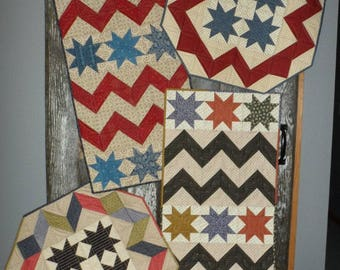 CELEBRATIONS - Table Runner and Table Topper Quilt Pattern