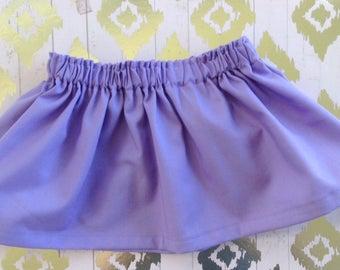Purple skirt / Baby Skirt / Girl Skirt / Toddler Skirt / Girl clothes / Baby Girl skirt / Baby Girl Outfit /  Girl Outfit / Purple skirt