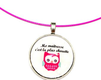 OWL centerpiece year-end gift necklace
