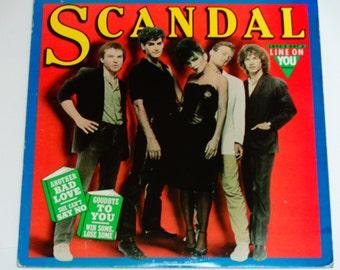 Scandal - Love's Got a Line On You - Pop Rock - New Wave - Patty Smyth - Columbia Records 1982 - Vintage Vinyl LP Record Album