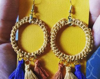 Bohemian Tassel Earrings