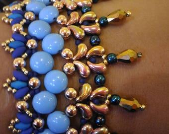 Bracelet Brenda photo tutorial PDF