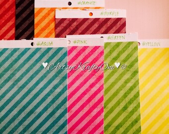Planner Dividers (set of 3 with tabs for small/pocket size)