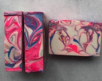 Soap Blueberry Jam Cold Process Artisan Soap Bar