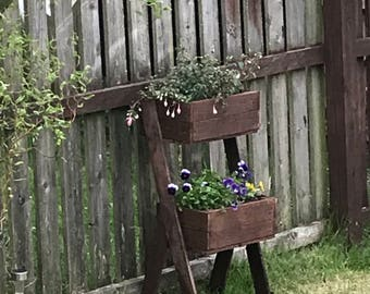 Rustic planter
