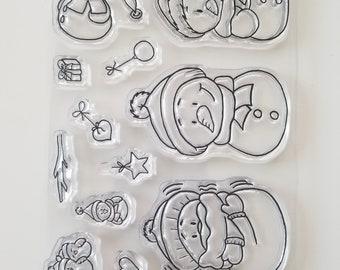 Gerda Steiner Designs - Snowman Friends