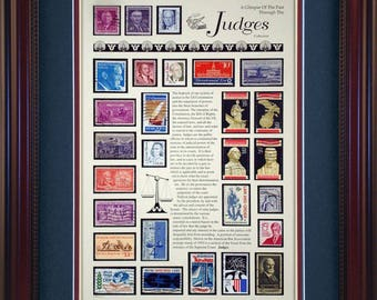 Judges 4294 - Personalized Framed Collectible (A Great Gift Idea)