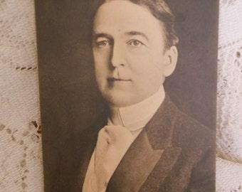 Chauncey Alcott Vintage Photo Post Card