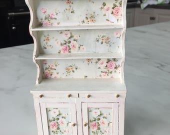 Dolls house miniature Kitchen Dresser