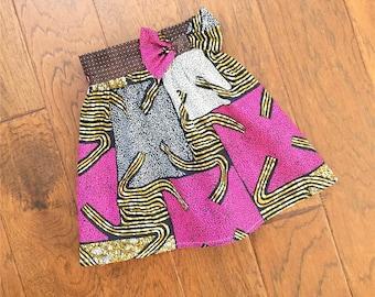 Baby girl multi color midi skirt - baby girl skirt