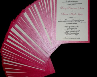 Schimmernde Style - Wedding Invitation