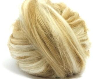 Baby Camel/18.5mic 100's Merino Wool Top - Roving - Felting Wool - Spinning