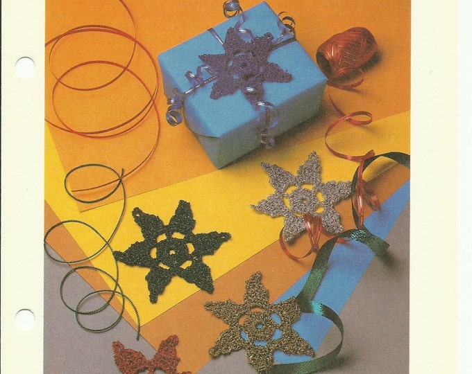 Star Ornament crochet pattern download