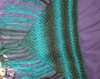 Triangle Fringed Scarf