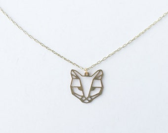Cat Face Necklace | ATL-N-146