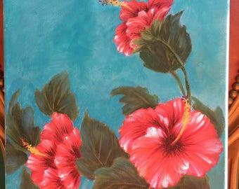 Hibiscus Wall Art