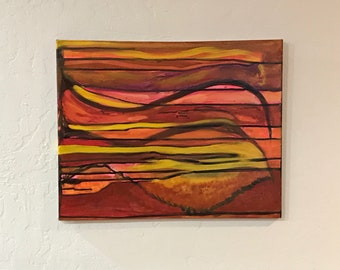 Untitled 16x20 Original Abstract