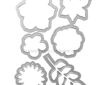 Stampin Up! Secret Garden Framelits Dies (NIP)
