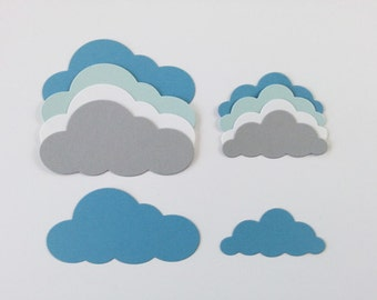 Marshmallow Cloud Die Cuts