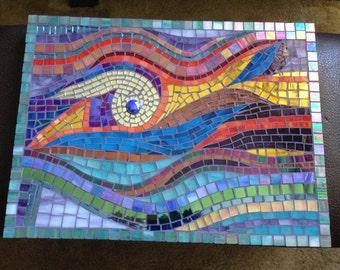 Sale Violet Enchantment Mosaic