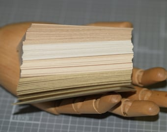 100 All Natural Business Card Blanks Textured Cards Recycled Cardstock 80 lb Seller Supplies Biz Cards Eco Friendly DIY Business Cards