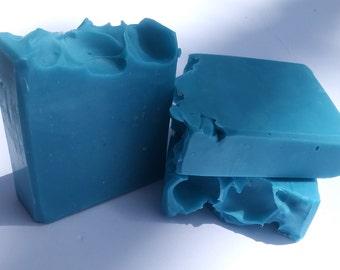 Rain Scented Wavy Waters Soap/Artisan Bar Soap