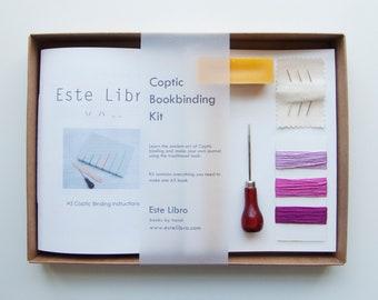 Coptic Binding Kit - Bubblegum