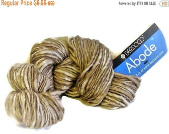ON SALE Berroco Abode 100 Percent Wool Yarn 1 Skein Burlap 8838