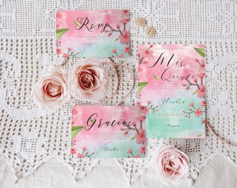 Watercolor Sweet Invitation