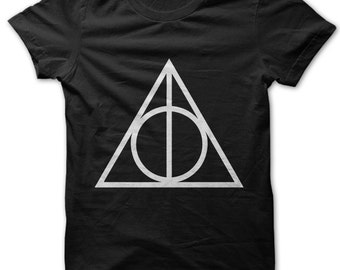 Deathly Hallows symbol Harry Potter t-shirt