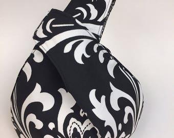 Black and White Project Bag, Wristlet, Gift Bag